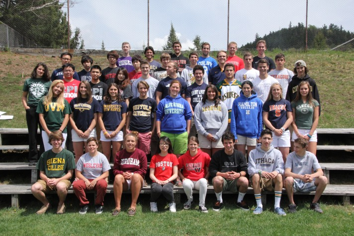 Congratulations to the Northwood School class of 2013, and good luck in college. Keep in touch with your alma mater!