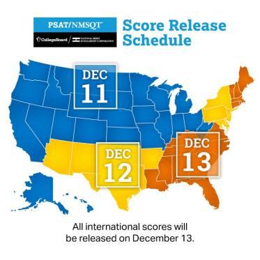 PSAT Release Dates